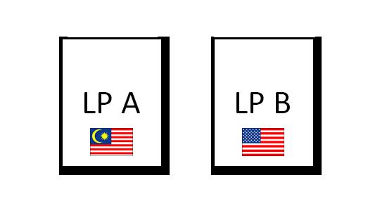 国別ランディングページ