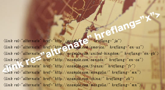 多言語サイト用のHTMLタグ