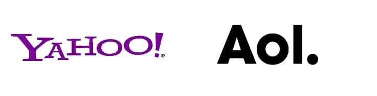 Yahoo and aol